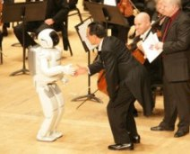robot conduct symphony