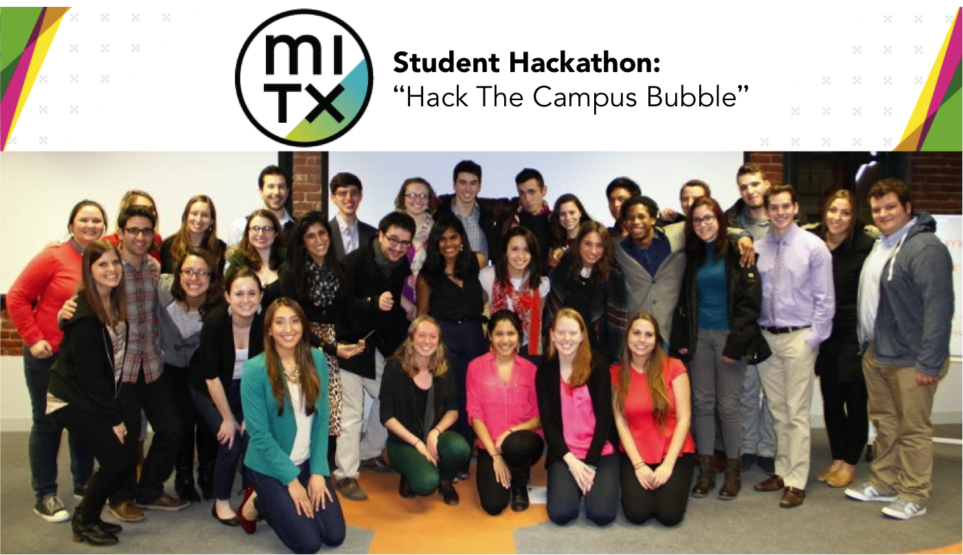 Student hack the campus bubble